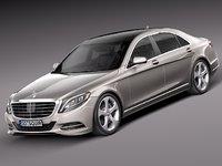 2013 2014 sedan mercedes 3d max