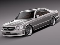 car mercedes mercedes-benz luxury 3d lwo