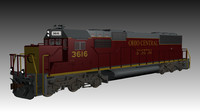 ohio locomotive 3ds