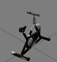 gym cycle 3d model
