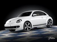 volkswagen maggiolino 2013 3d 3ds