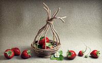 strawberries 3d model
