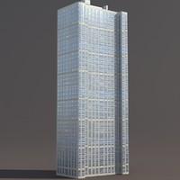 Skyscraper #6 Low Poly 3D Moswl