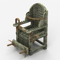 max medieval torture chair