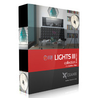 CGAxis Models Volume 35 Lights III VRay