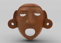 Aztec Mask Xipe-Totec
