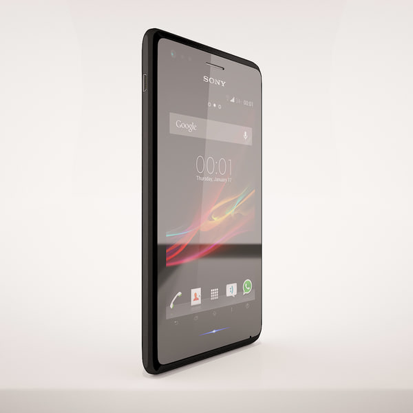 3d realistic sony xperia m - Sony Xperia M All Colors... by AdrianWisnios