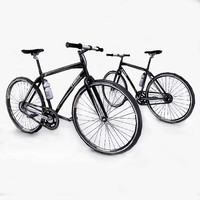 photorealistic bicycle 3d obj