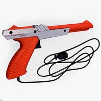 nintendo zapper 3d model