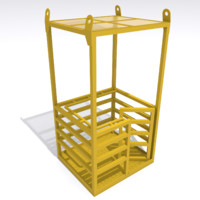 maya man lifting cage