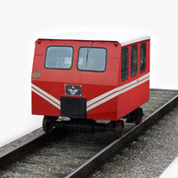 tcdd dresin car 3d model