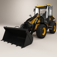 loader industrial 3d model