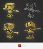 3d robot al model