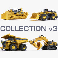 mining heavy d575 wa1200 3d model
