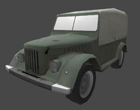 3d model gaz69 polys ready
