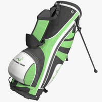 3d golf bag woodworm