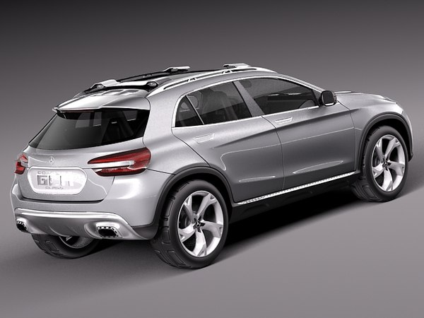3d model 2013 mercedes mercedes benz suv for Mercedes benz suv models