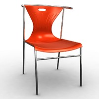 elmer chair 3d obj
