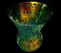 art vase 3d ige