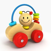 3ds max wooden car