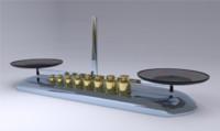 plates scale 3d model