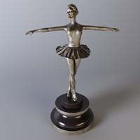 Ballerina Statuettes