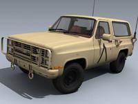 M1009 CUCV (US Desert)