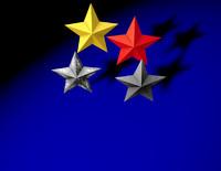 cinema4d star red