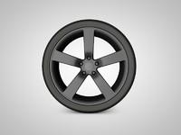 car rim 3ds