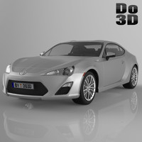 scion frs 2013 3d 3ds