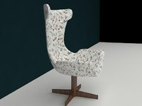 arm-chair 3d max