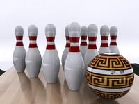 bowling set max