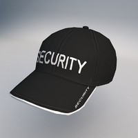 3d model cap clothes