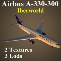 airbus iwd 3d model