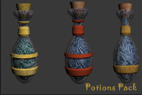 Potions Pack Fantasy Game