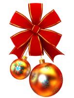 3d ball christmas tree model