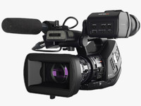 3ds max camera sony xdcam-ex