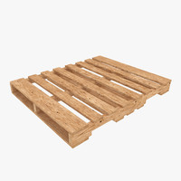 wooden pallet obj