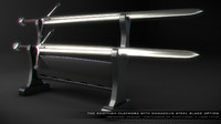 3d sword claymore - model