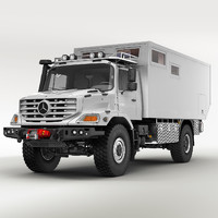 mercedes zetros home 3d model
