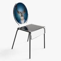 3d model cerf chair
