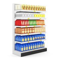 supermarket market sh 3d max