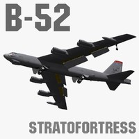 3ds max b-52h stratofortress