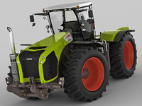 claas xerion tractor 3d max