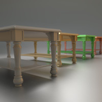 3ds max coffe table