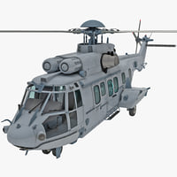Eurocopter EC725 Caracal Tactical Transport Helicopter 8