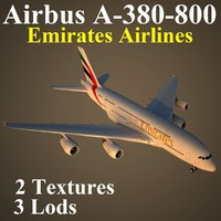 3d model of airbus uae