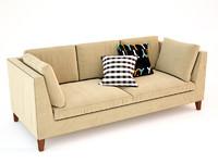 ikea stockholm sofas 3d model