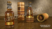 3d model balvenie 50 years old