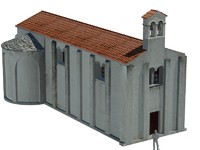 church 6th century 3d max